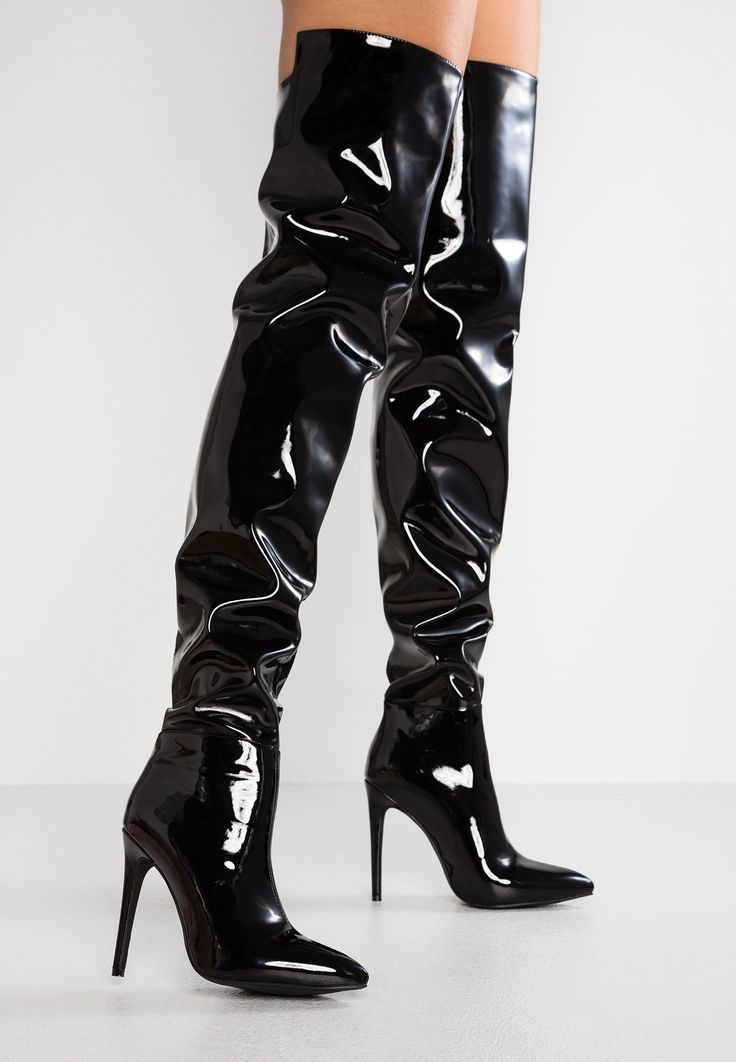 BRUNA – Laarzen met hoge hak – black @ Zalando.nl 🛒