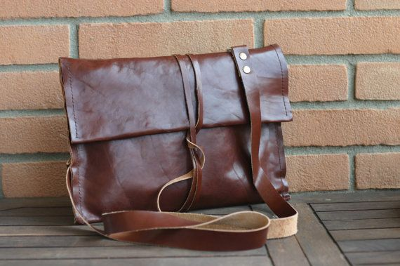 Ipad leather purse  Handmade Leather Ipad by Creazionidiangelina, $85.00