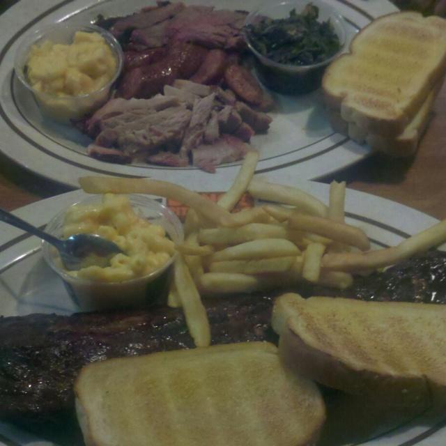 Man Vs Food Oklahoma Joe S