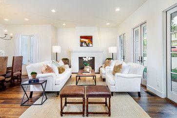 La Jolla Spanish - Mediterranean - Living Room - San Diego - Bothwell Builders