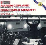 Aaron Copland: Piano Concerto; Gian Carlo Menotti: Piano Concerto [CD]