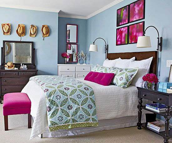 Whether you crave a palette of bright colors or prefer a soothing scheme of neutrals for your bedroom, find inspiration from these bedrooms that showcase colors perfectly.: Whether you crave a palette of bright colors or prefer a soothing scheme of neutrals for your bedroom, find inspiration from these bedrooms that showcase colors perfectly.