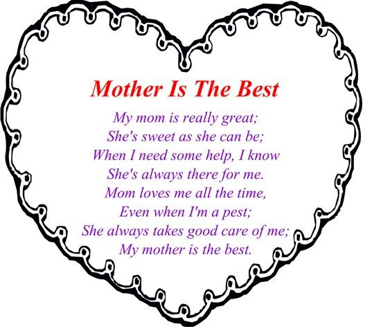Mothers Day Poems...