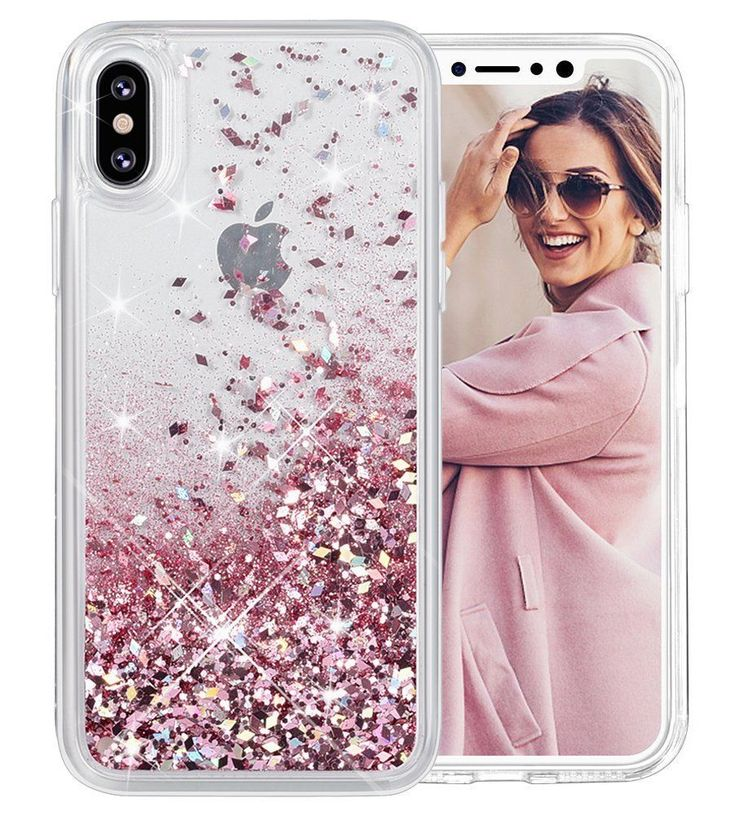 For iPhone X Case Glitter Case Liquid Series Girls Luxury Fashion Cute TPU Case  #Caka
