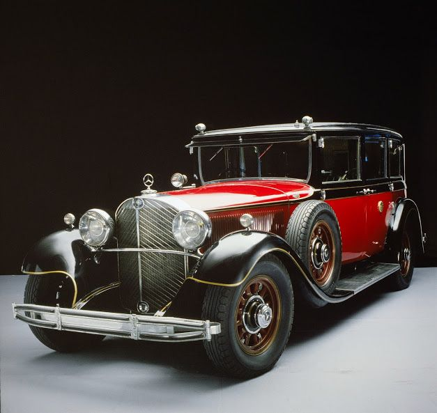 Japanese Emperor Hirohito's car in 1935 – a 770 Grand Mercedes Pullman limousine