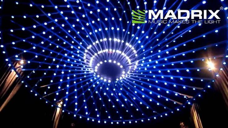 Madrix @ night club Obelisco Polanco, Mexico, RGB night club led lighting