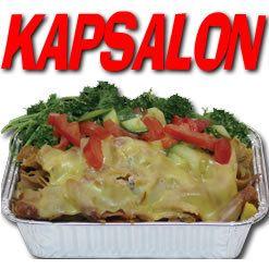 Frietje kapsalon: INGREDIËNTEN KAPSALON: Voor het maken van een Kapsalon heb je de volgende ingrediënten nodig: friet, shoarma, Goudse kaas en sla. knoflooksaus en sambal. BENODIGDE MATERIALEN: Voor de bereiding heb je een bord, schotel of een aluminium bakje nodig. Friet bakken. De shoarma kun je bakken in een koekenpan.Om de kaas boven op de Kapsalon eenvoudig te smelten is een gril het makkelijkst maar het kan ook in een normale oven.