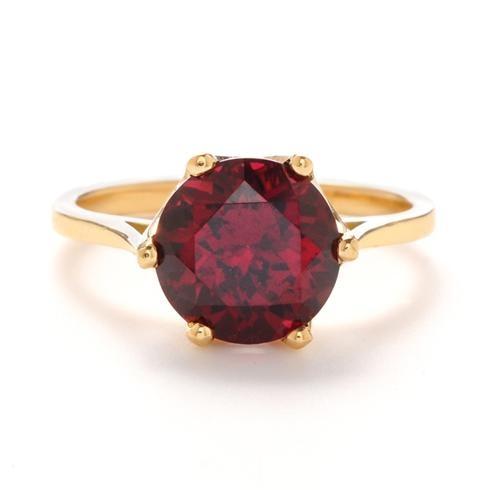 Greenwich Collection Rhodolite Garnet Ring