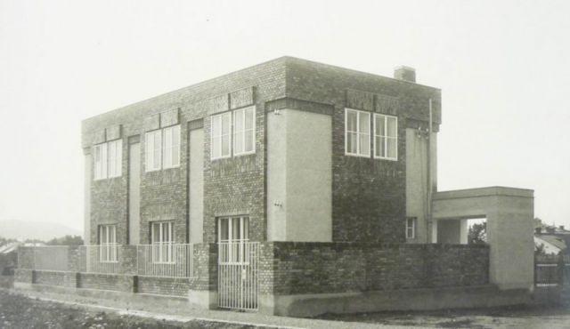 Administrativní budova firmy Tauber, Bystřice pod Hostýnem / Bohuslav Fuchs