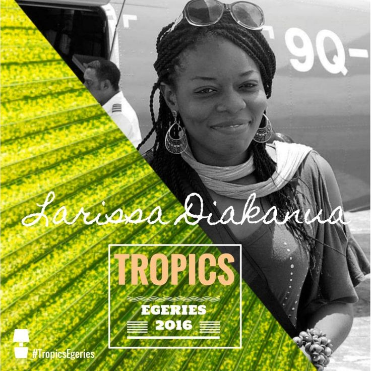 Larissa Diakanua - Tropics Egéries by Tropics Magazine