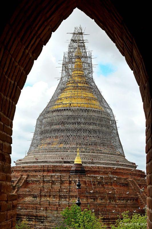 Pagoda renovation time