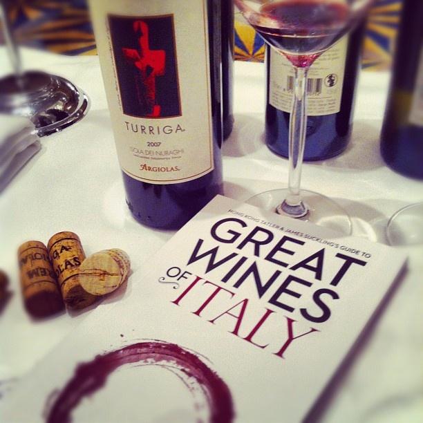 Great Wines of Italy in Hong Kong with Tatler e James Suckling: Turriga