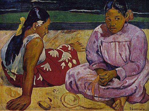 Femmes deTahiti, 1891, Paul Gauguin