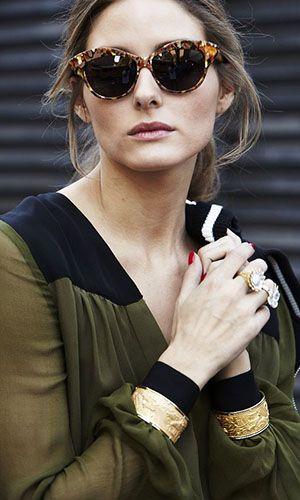 Modelos de Óculos de Sol que são tendência da moda em 2018   Olivia palermo  and Palermo 834e0f44e4
