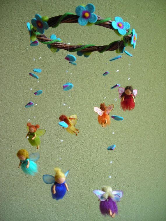 rainbow fairies mobile (photo only)