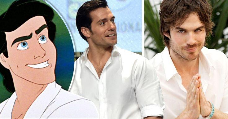 A la espera de que Disney confirme quien interpretaría al príncipe Eric en la nueva versión live-action  de la Sirenita, estos son los posibles candidatos
