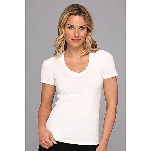 (モドオードック]) Mod-o-doc レディース トップス 半袖シャツ Supreme Jersey Fitted S/S V-Neck 並行輸入品  新品【取り寄せ商品のため、お届けまでに2週間前後かかります。】 カラー:White カラー:ホワイト