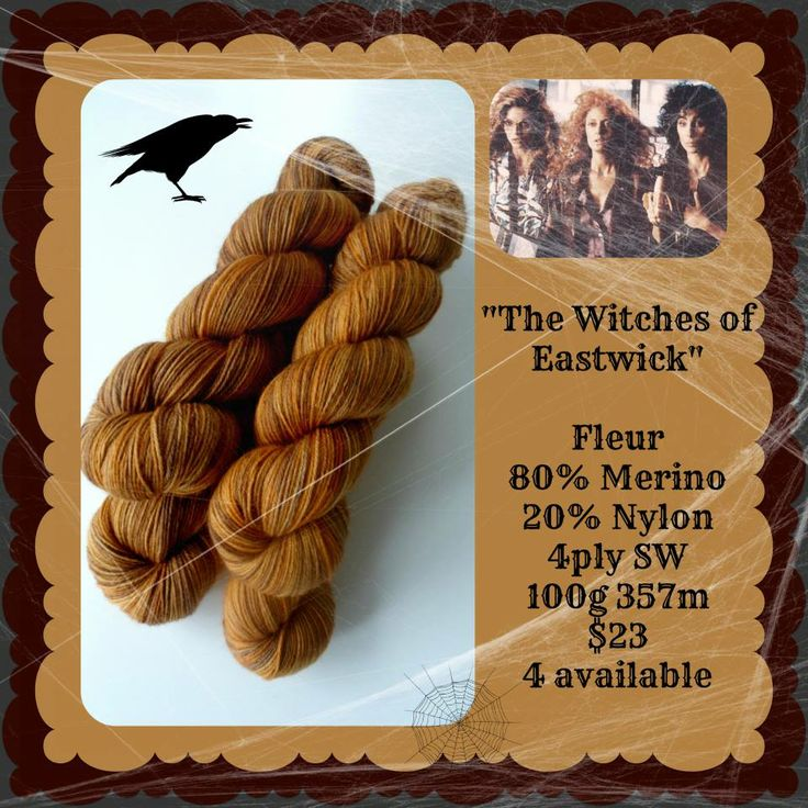 The Witches of Eastwick - Which Witch? | Red Riding Hood Yarns