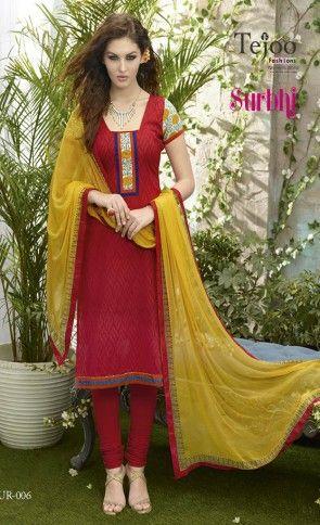 Surbhi Jacquard Cotton Dress Material