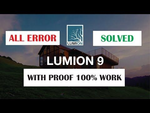 lumion 9 pro download solved all problams and how to use