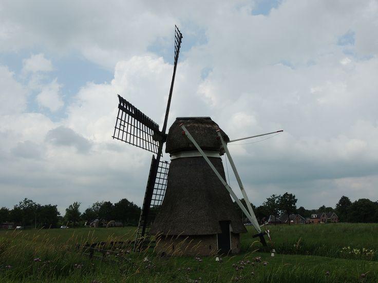 molen te Buitenpost. Friesland The Netherlands