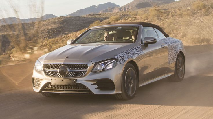 The new Mercedes-Benz E-Class Convertible will debut at the Geneva Motor Show next month, but we get an early look by way of a prototype ridealong in Arizona.