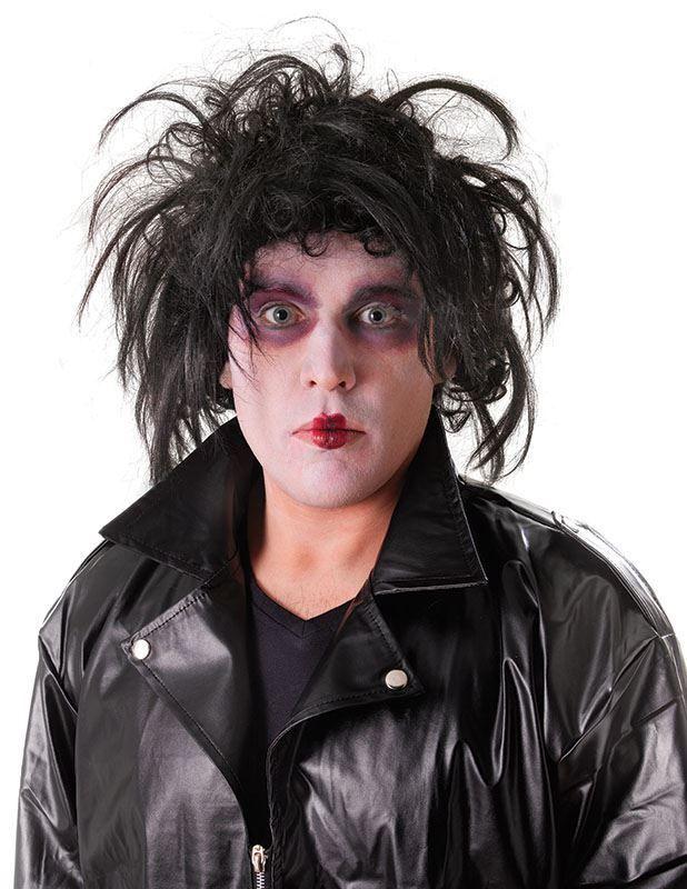 Adult Halloween Edward Scissor Hands Scary Fancy Dress Wig - The Dragons Den Fancy Dress