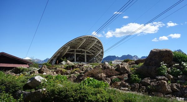 Nuove funivie SkyWay Monte Bianco   Stazione intermedia   Proteo