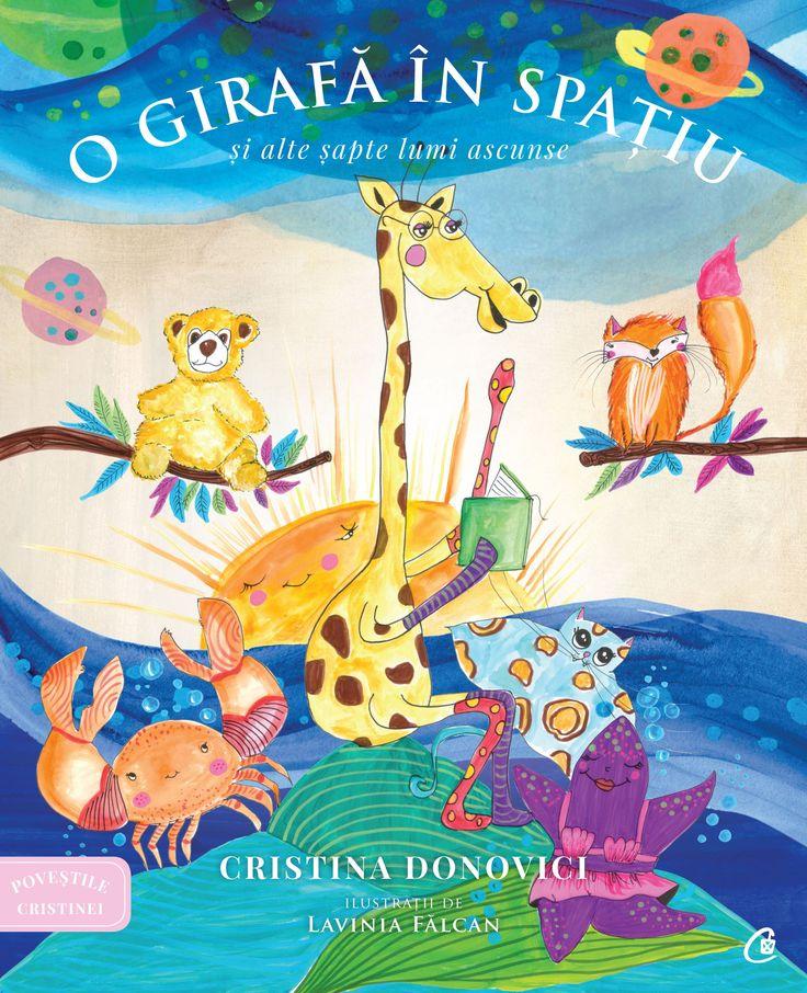 Precomandă - O girafă în spațiu și alte șapte lumi ascunse