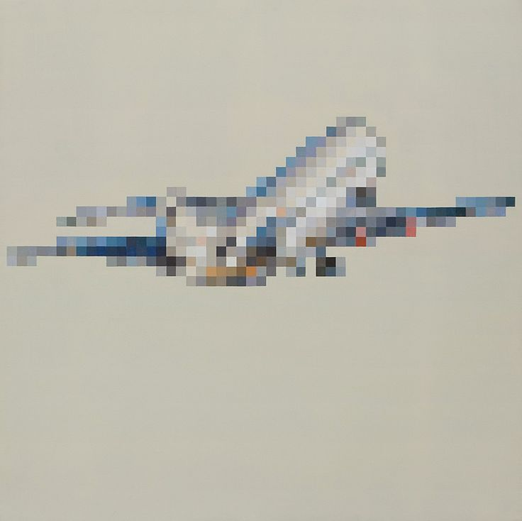 on a plane. 2010 140 x 140 cm www.guillermo-moreno.com