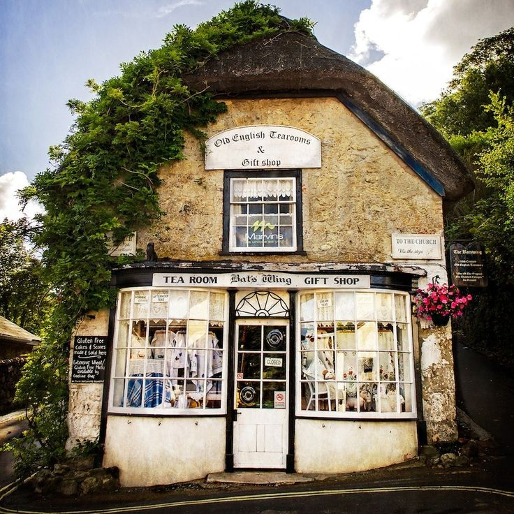 The Bat's Wing Tea Room, Isle of Wight, U.K.  A charming place to have afternoon tea so quaint and traditional.  Make mine Earl Grey please.