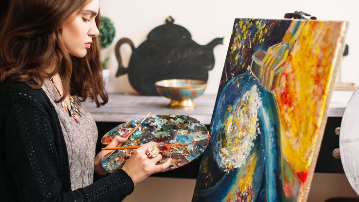 Here's how to become an artist in the real world, and get paid for it