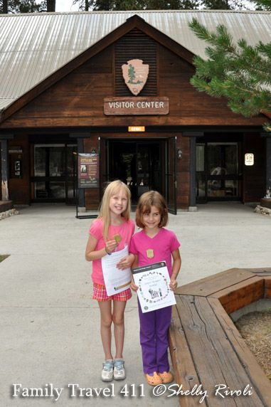 Proud new Junior Rangers sporting their badges at Sequoia National Park. Details in the 411 on Sequoia National Park with Kids article http://www.familytravel411.com/sequoia-national-park-with-kids