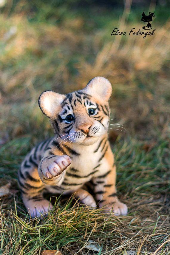 Tiger Amure MADE TO ORDER van KittenBlackUA op Etsy