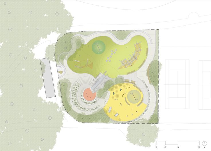 Gallery of Mountain Lake Park Playground / Bohlin Cywinski Jackson - 14