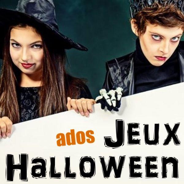 8 jeux sur le thème de Halloween pour les ados et les pré-ados