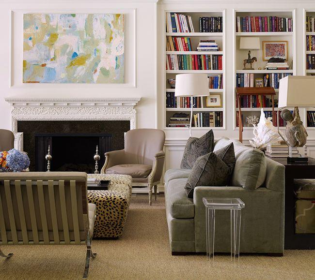 Stylish, yet liveable family room | Designing Women