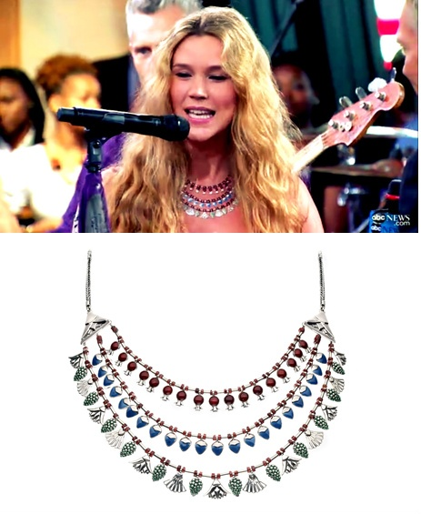 Azza Fahmy's pharonic necklace. want.