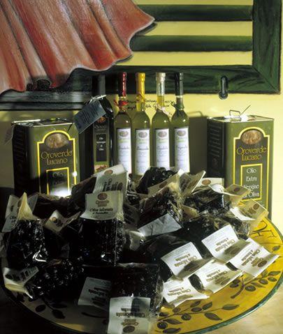 Banco prodotti Oroverde Lucano