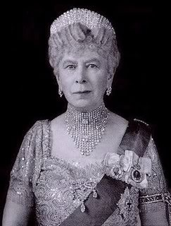 The Splendor of Queen Mary, Queen Elizabeth's grandmother who's love and use of jewels is legendary.