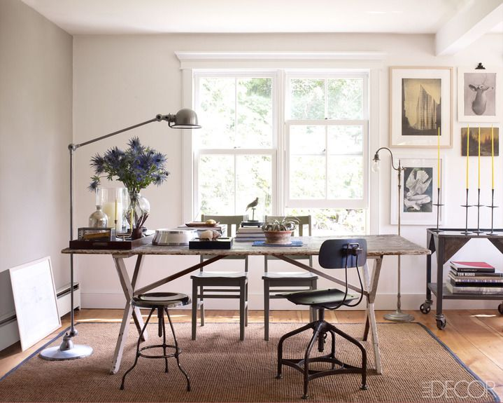 ... Inspiration Modern Rustic Office