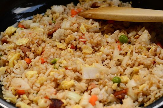 Japanese Fried Rice, this could be  eaten with different things all week