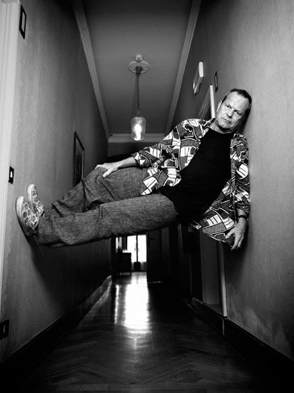 Terry Gilliam. Writer, director, producer, actor, and brilliant at everything. A hero.