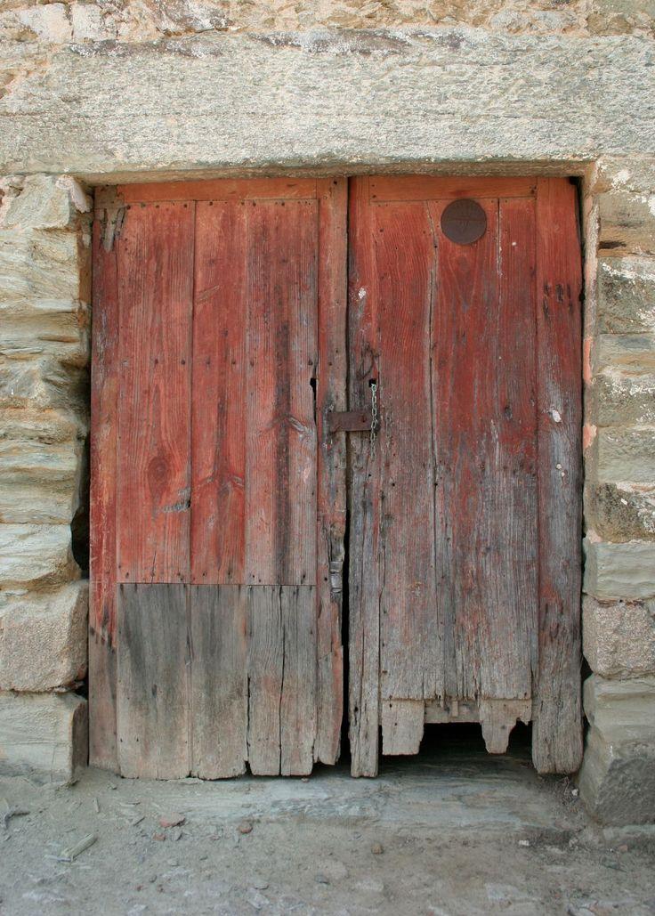 Ancient red door and granite lintel, Quinta da Vilha Velha, Douro Valley, N. Portugal  Twitter / agoodnose: Red door: Quinta da Vila Velha, ...