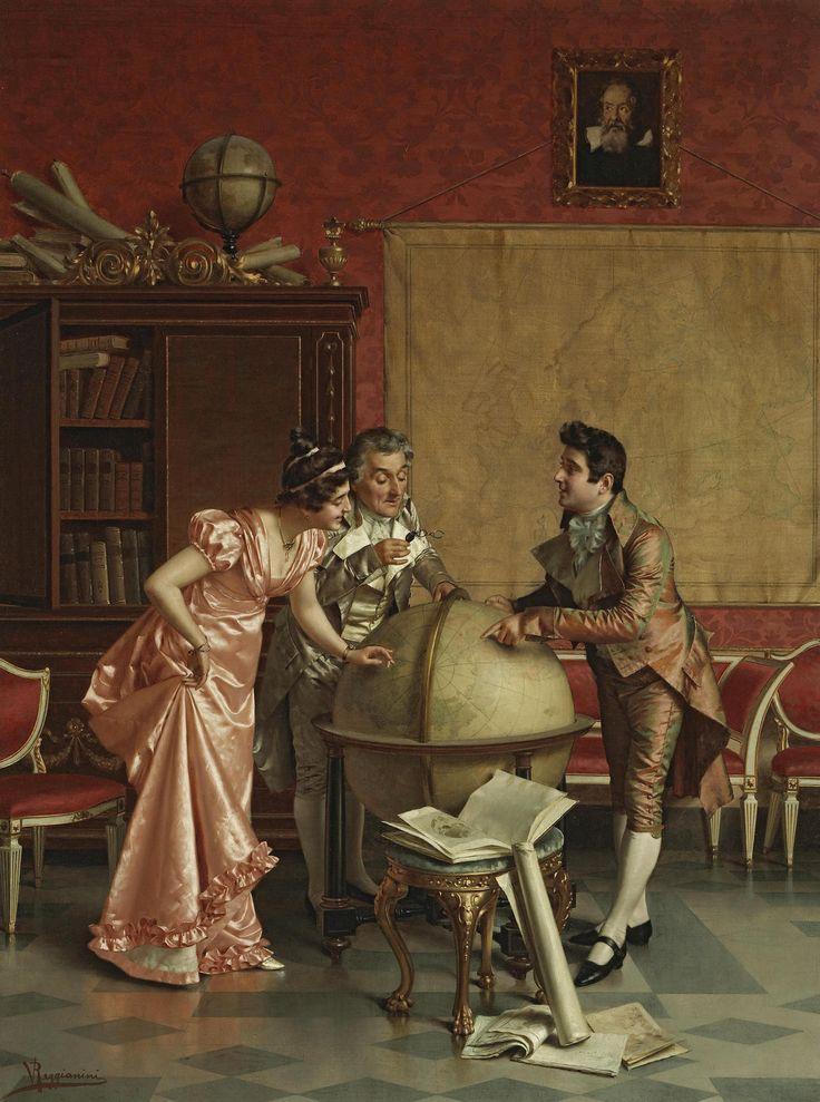 Vittorio Reggianini (1858-1939) - The way of the world: