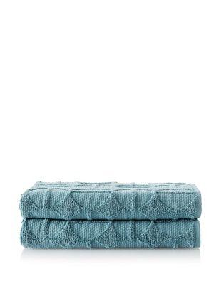 70% OFF Garnier-Thiebaut Ligne O Bouleau Set of 2 Bath Towels (Fjord)