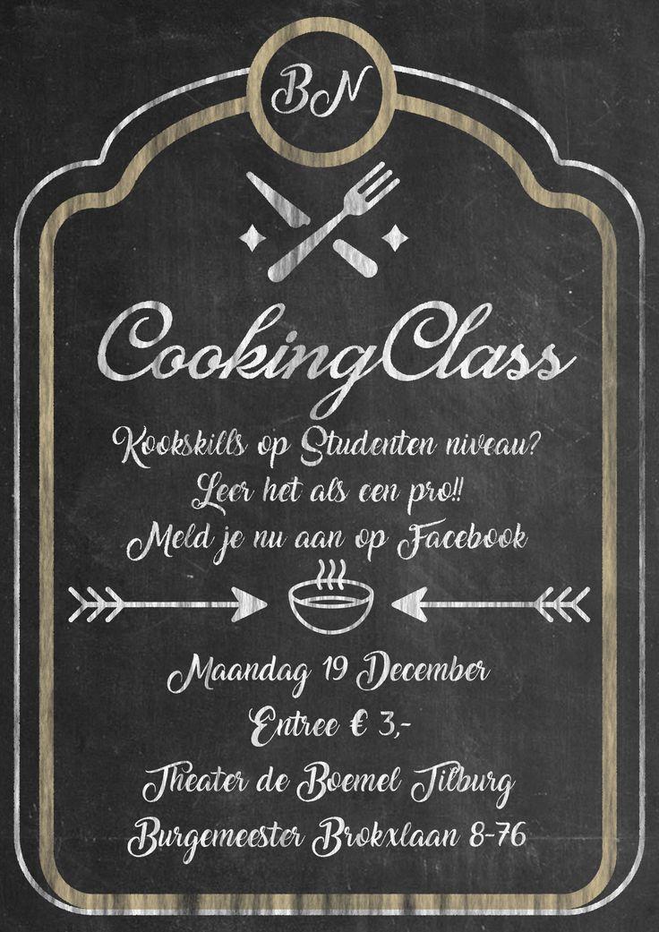 Poster Event CookingClass Yannick Wirjosentono