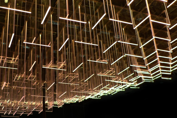 The Spacegroup chandelier, Trondheim