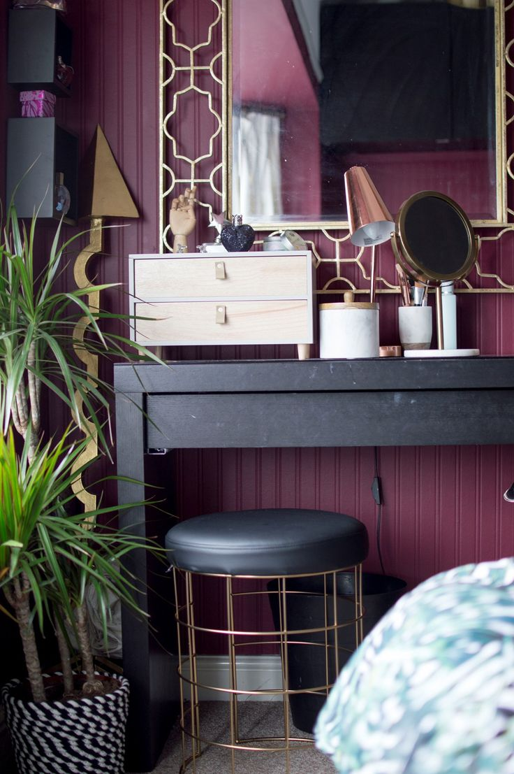 Ethereal Style, High Street Prices Home decor, Red walls