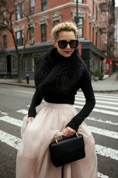Classy fashionista winter style Atlantic Pacific @ Blair Eadie